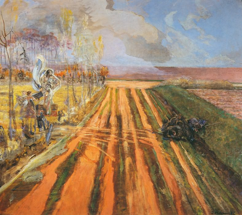 Resurrection. Jacek Malczewski