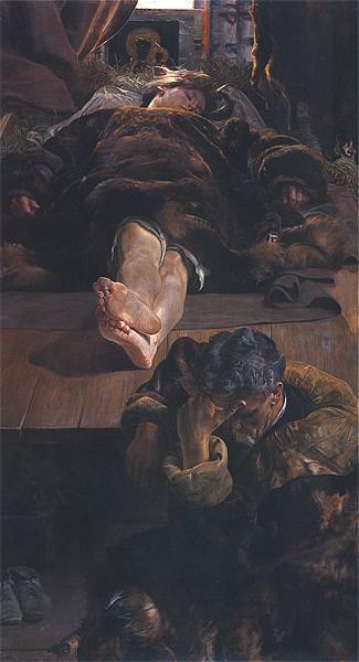 Смерть Елены, 1907. Яцек Мальчевский