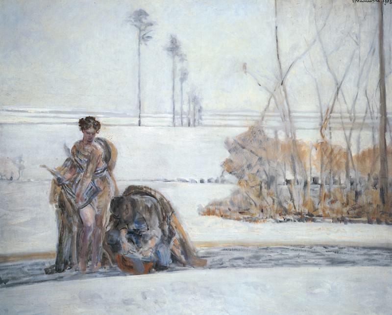 Winter Landscape. Jacek Malczewski