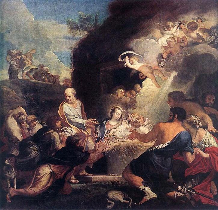 Поклонение пастухов. Карло Маратта