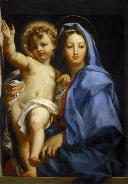 Madonna and Child. Carlo Maratti