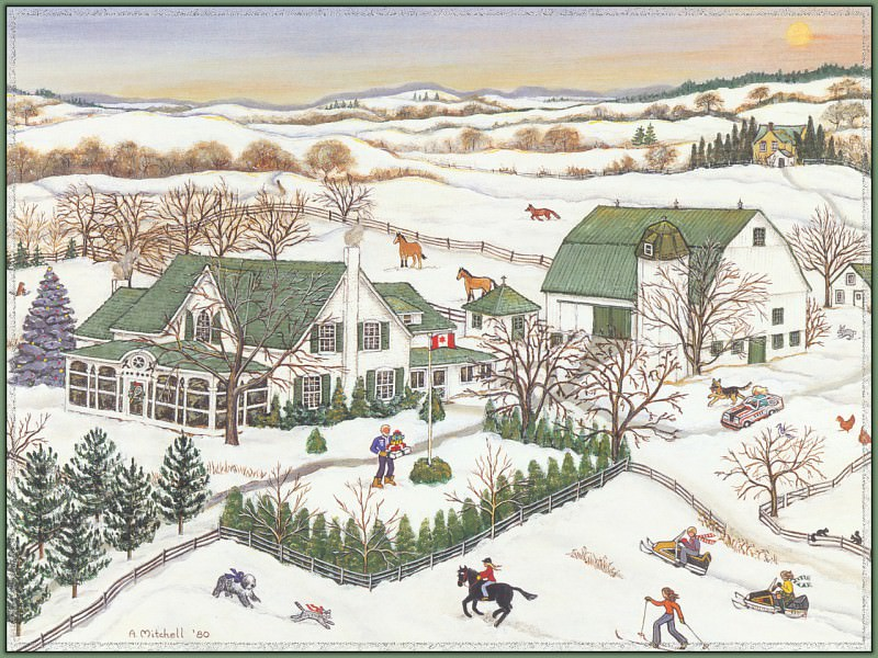 Home For The Holidays. Ann Mitchell