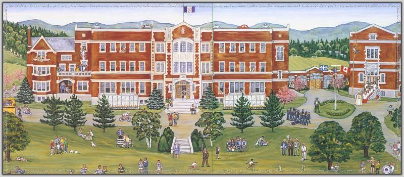 Bishops College School. Ann Mitchell
