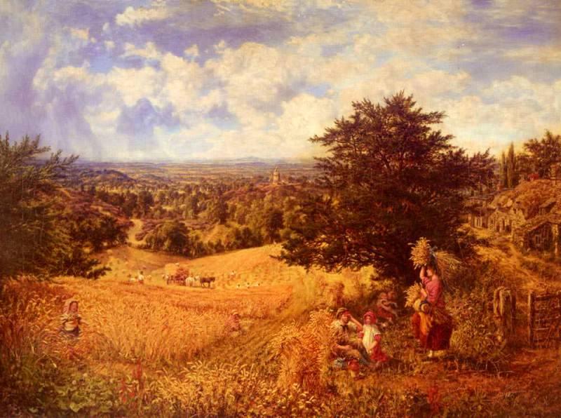 Harvest Time. George William Mote