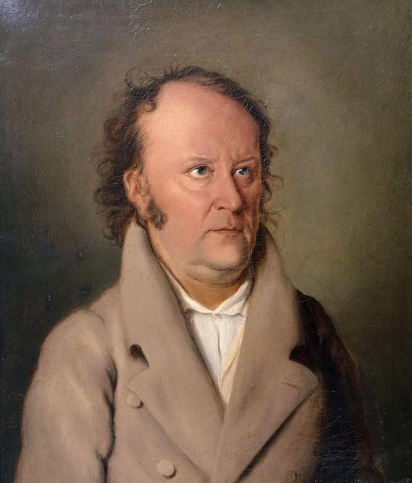 Портрет поэта Жана Поля. Фридрих Майер