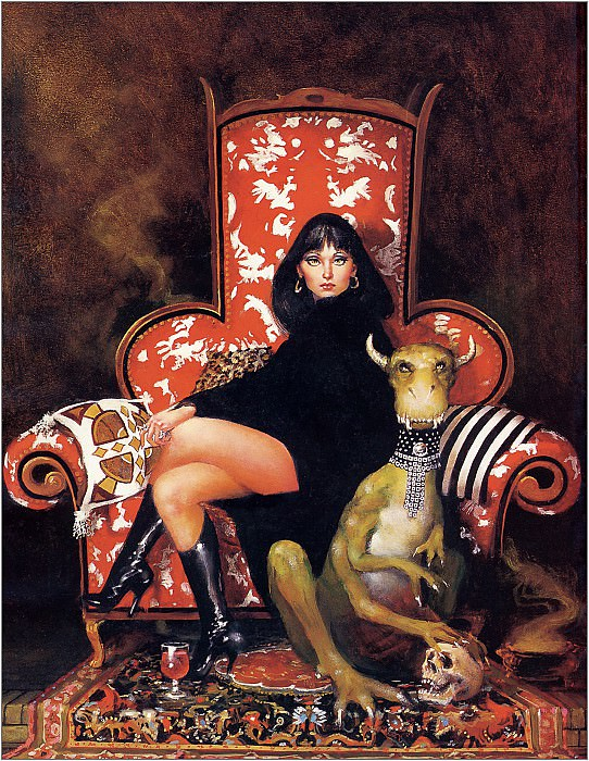 Lady And Her Pet - Xxx 1618. Don Maitz