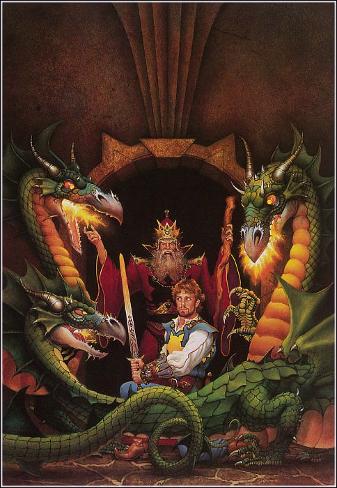 questing hero. Don Maitz
