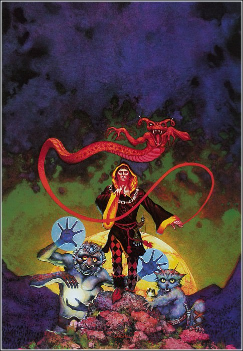 demon in the ring. Don Maitz
