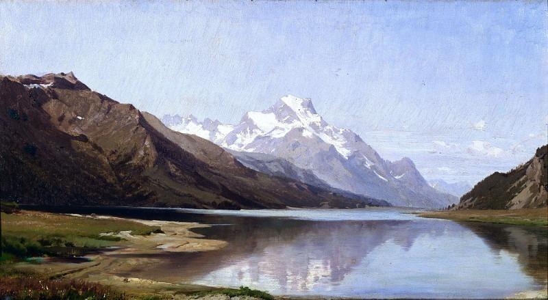 Вид на озеро Сильваплана. Андреа Антонио Мария Маренци