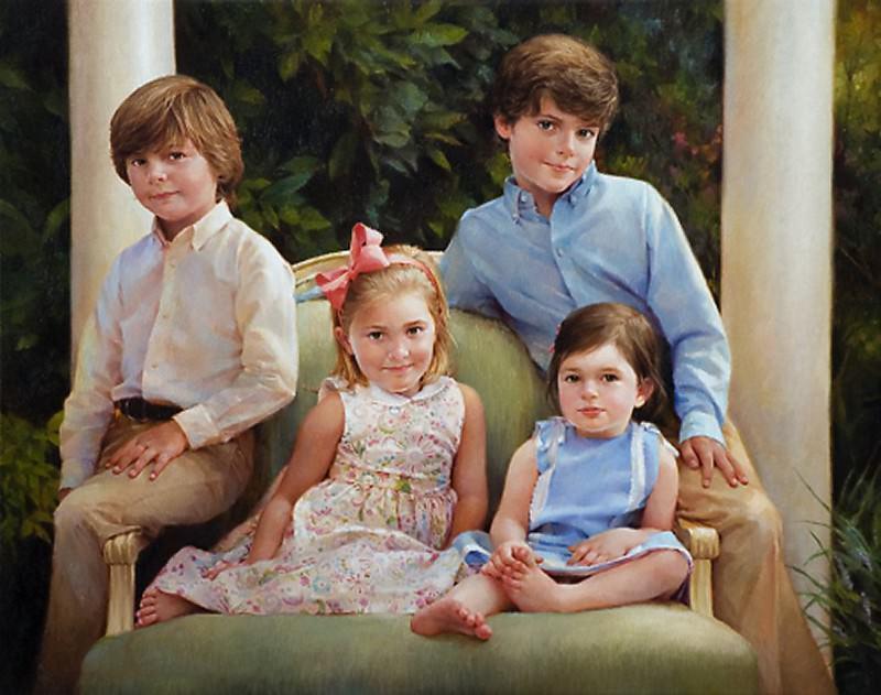 the williams children. Jean Monti