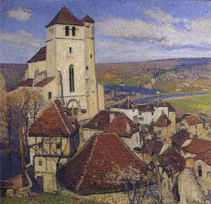 Saint Cirq Lapopie 02. Henri-Jean-Guillaume Martin