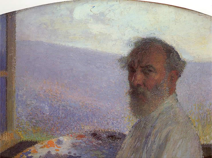 Self Portrait. Henri-Jean-Guillaume Martin