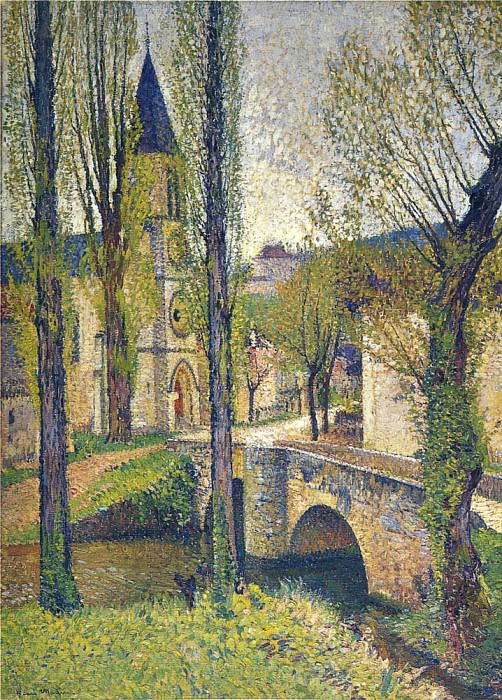 Church in Labastide 01. Henri-Jean-Guillaume Martin