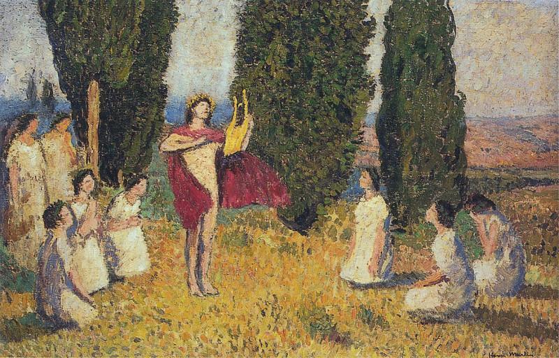 Orpheus. Henri-Jean-Guillaume Martin