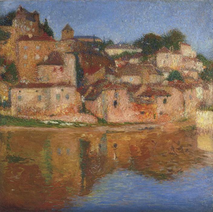Vue de Port l Eveque. Henri-Jean-Guillaume Martin