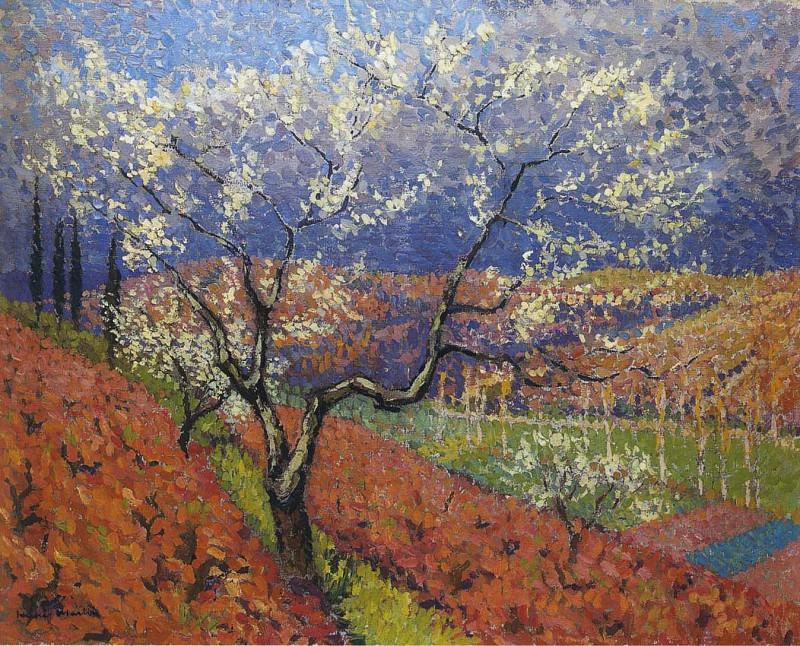 Деревья в цвету. Анри-Жан-Гийом Мартин