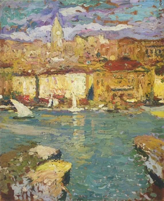 Port de Marseille. Henri-Jean-Guillaume Martin