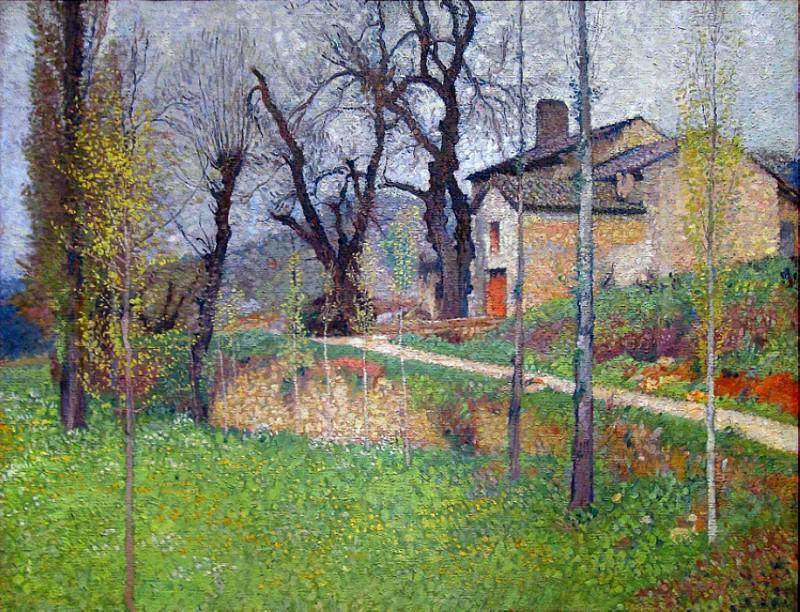 La Maison du Sabotier. Henri-Jean-Guillaume Martin