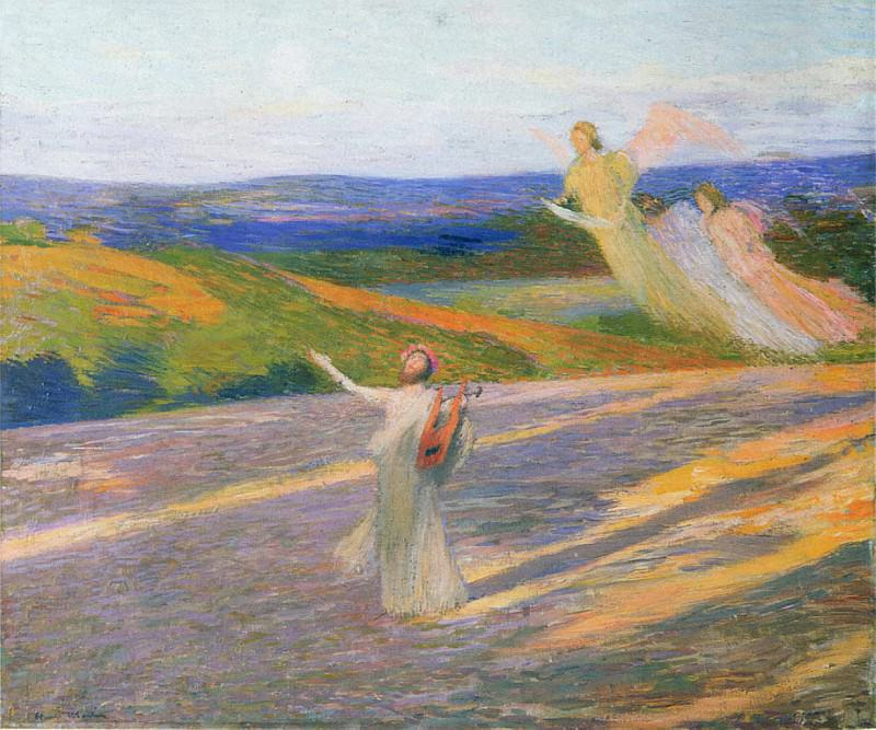 The Song of Orpheus. Henri-Jean-Guillaume Martin