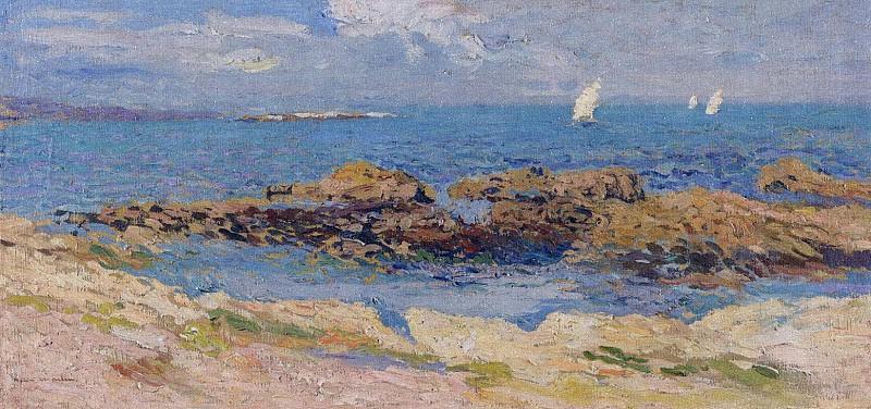 Environs de Saint Malo. Henri-Jean-Guillaume Martin