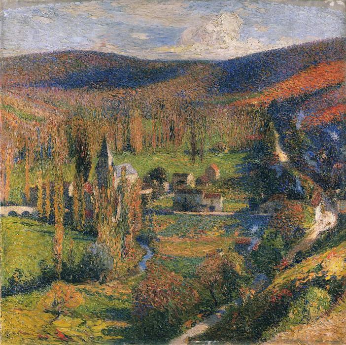 Paysage Labastide du Vert. Henri-Jean-Guillaume Martin