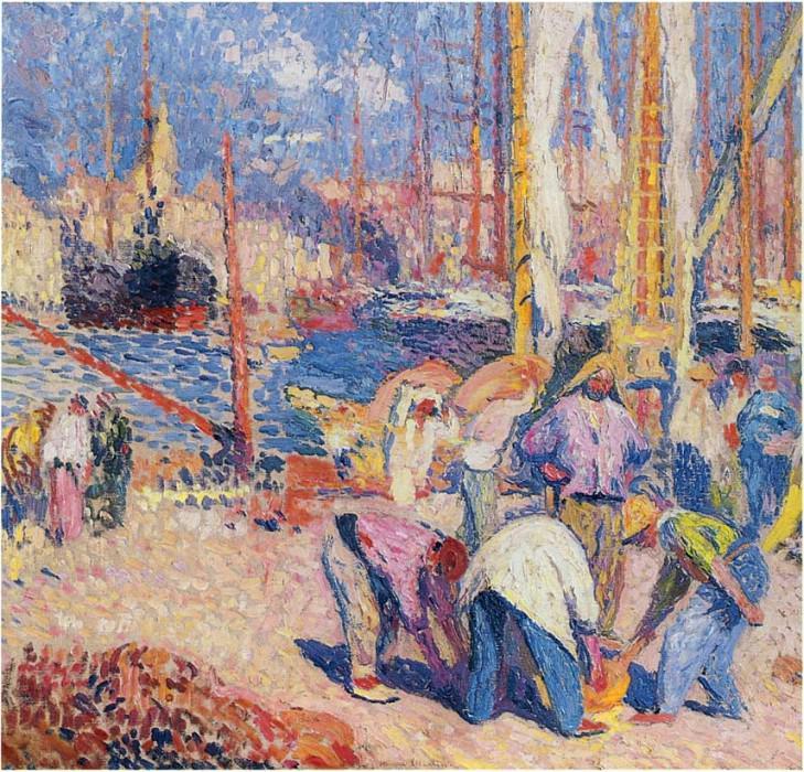 Le Port de Marseille 01. Henri-Jean-Guillaume Martin