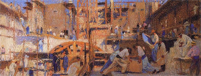 Работа, 1914. Анри-Жан-Гийом Мартин