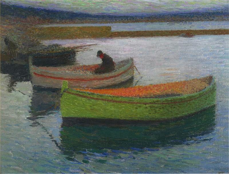 Рыбацкие лодки Коллиура. Анри-Жан-Гийом Мартин