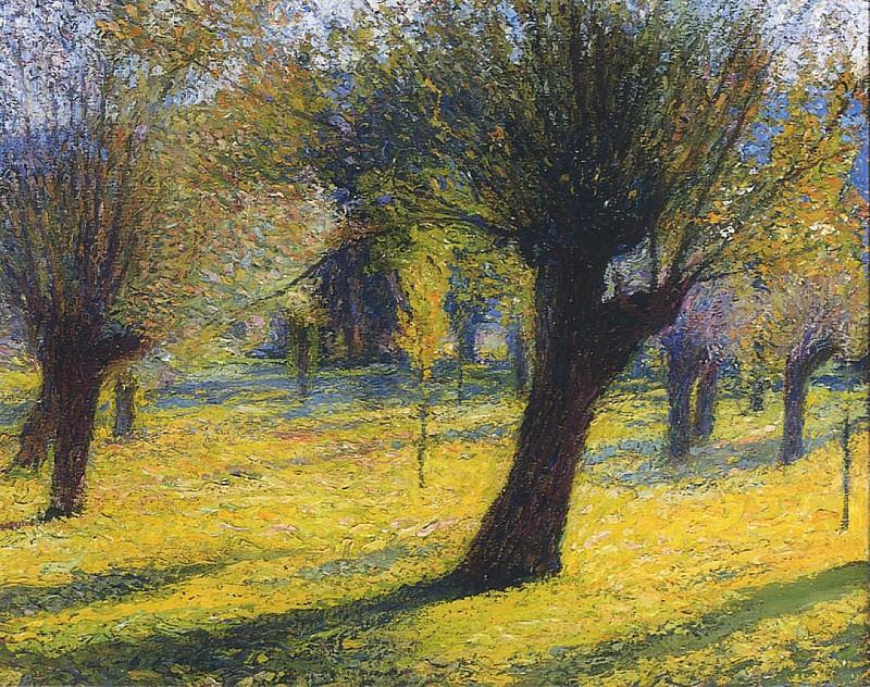 Willows in the Vert. Henri-Jean-Guillaume Martin