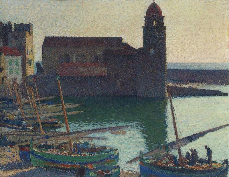 Le Port Collioure. Henri-Jean-Guillaume Martin