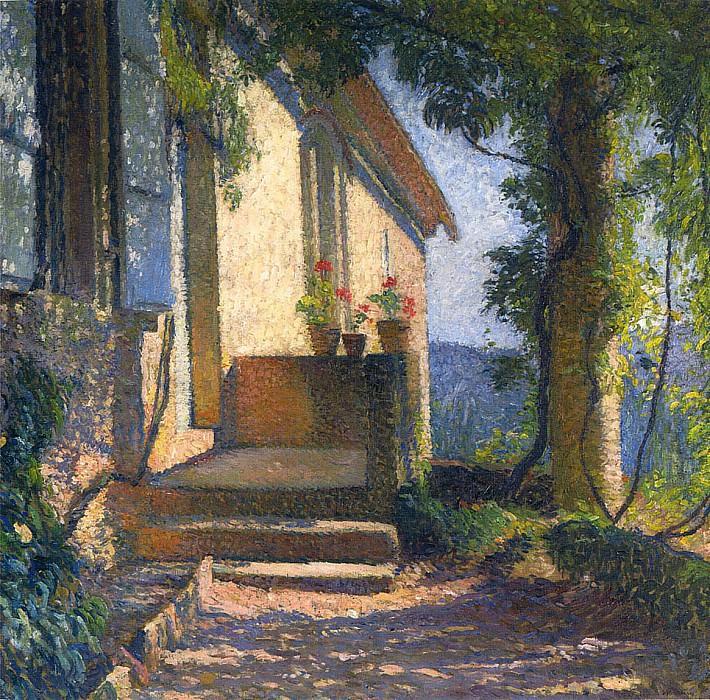 La Facade de Maison. Henri-Jean-Guillaume Martin