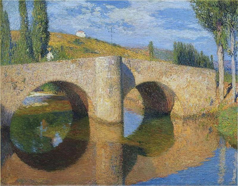 Le Pont du Labastide 1905. Henri-Jean-Guillaume Martin