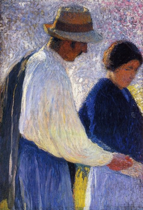 The Married Couple Study for Reapers 1902 03. Henri-Jean-Guillaume Martin