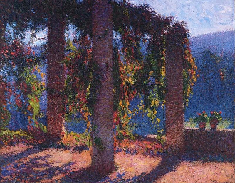 La Pergola a Marquayrol 1911. Henri-Jean-Guillaume Martin