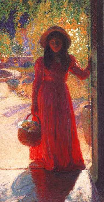 Gabrielle at the Gate. Henri-Jean-Guillaume Martin