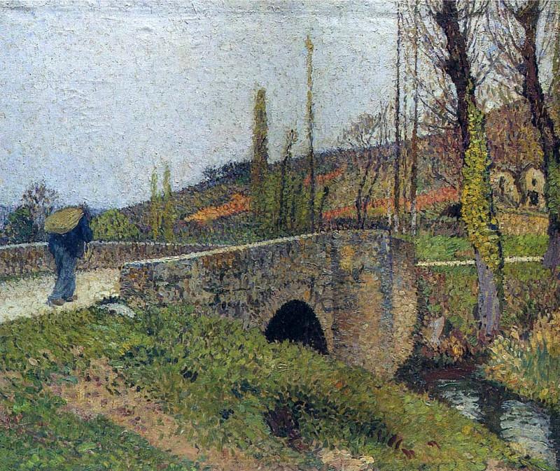 Le Petit Pont 1915. Henri-Jean-Guillaume Martin