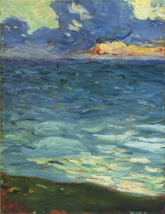 By the Sea. Henri-Jean-Guillaume Martin