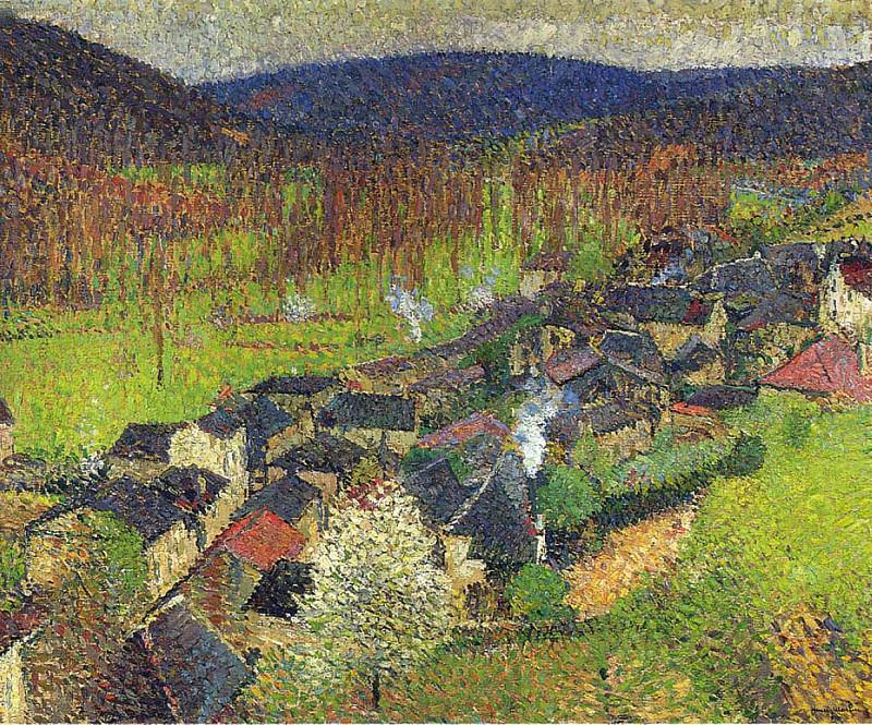 Vue de Labastide du Vert 02. Henri-Jean-Guillaume Martin