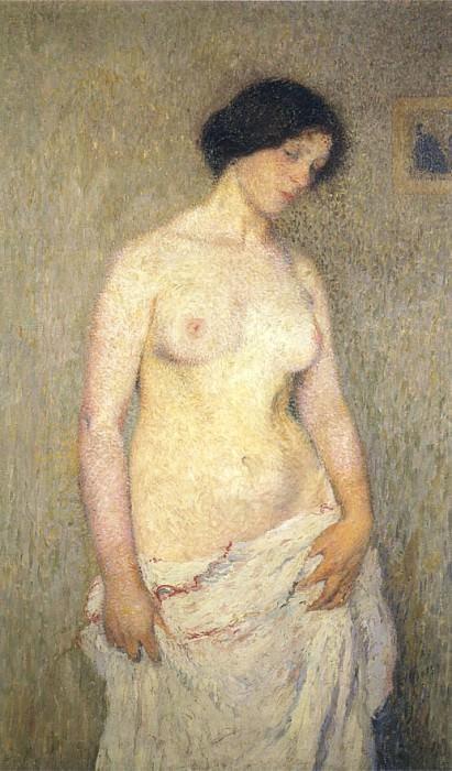Jeune Femme Nue. Henri-Jean-Guillaume Martin