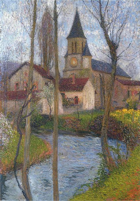 Church in Labastide du Vert. Henri-Jean-Guillaume Martin