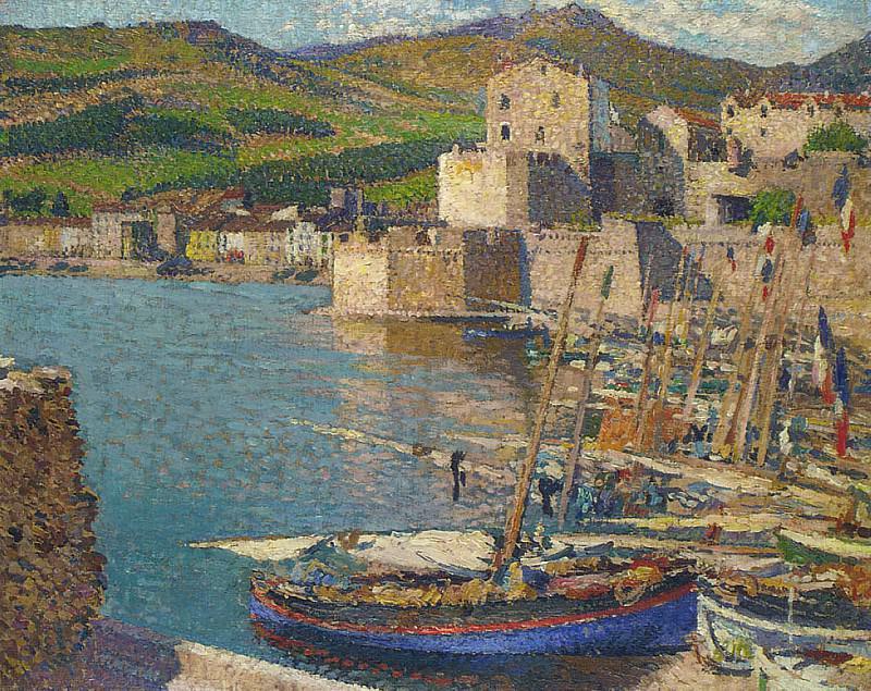 Port Collioure 02. Henri-Jean-Guillaume Martin