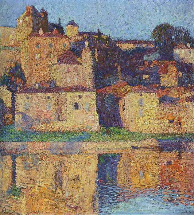 Vue de Puy l Eveque 02. Henri-Jean-Guillaume Martin