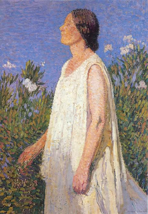 The Muse. Henri-Jean-Guillaume Martin
