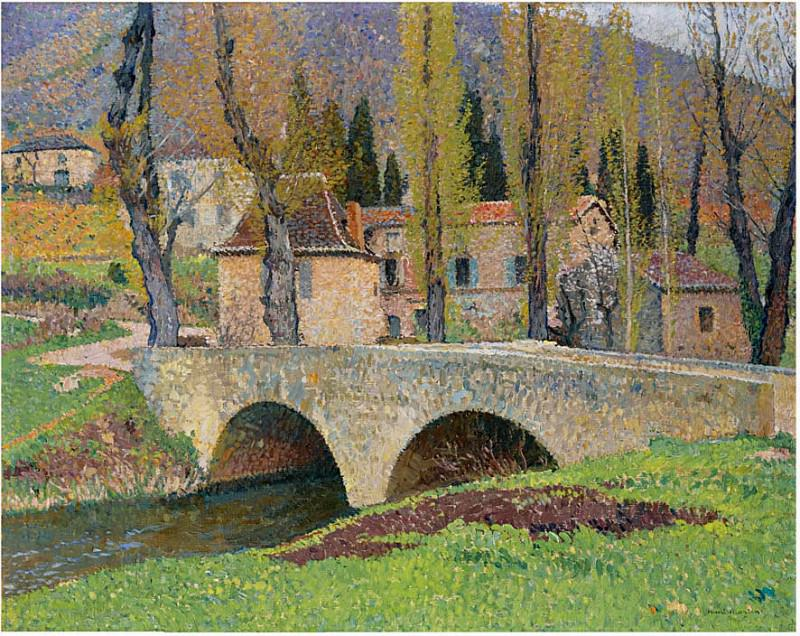 Le Pont Labastide du Vert. Henri-Jean-Guillaume Martin