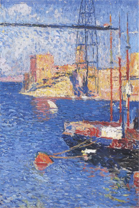 Le Port Transborder de Marseilles. Henri-Jean-Guillaume Martin