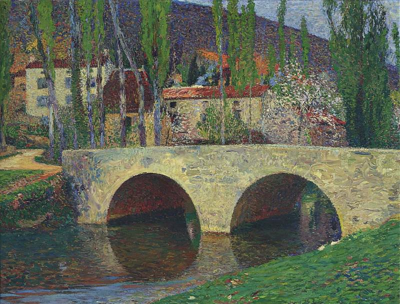 Le Pont de Labastide du Vert. Henri-Jean-Guillaume Martin
