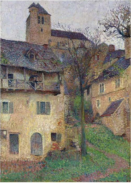 Montant Verg L eflis de Saint Cirq Lapopie. Henri-Jean-Guillaume Martin