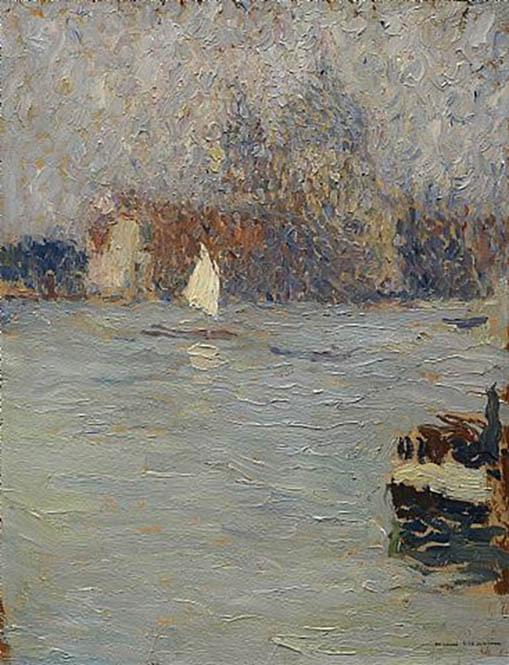 Венеция. Анри-Жан-Гийом Мартин
