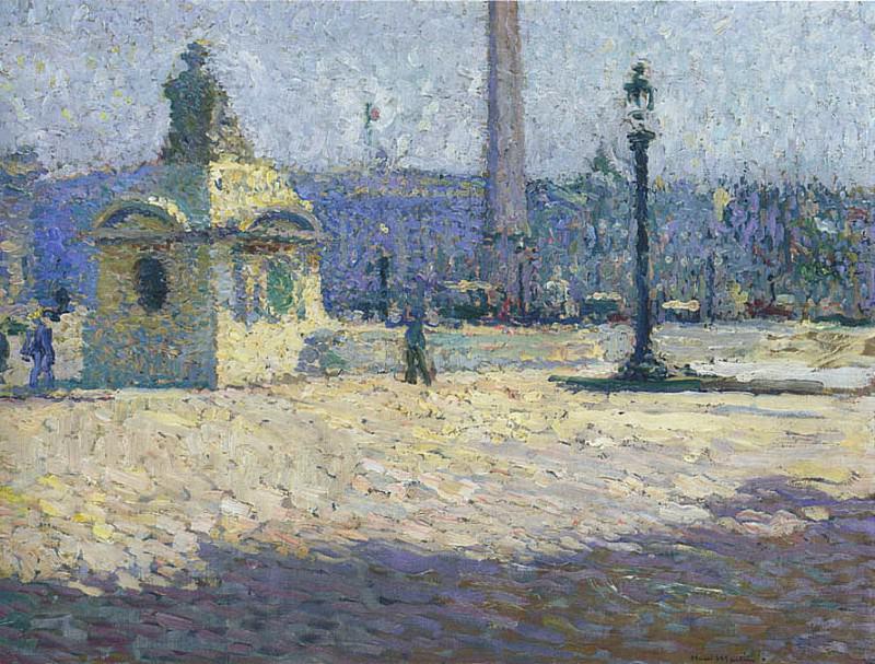 Place de la Concorde. Henri-Jean-Guillaume Martin