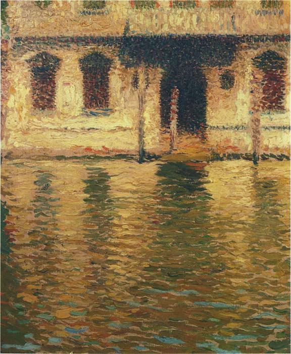 Vue du Palais en Venise 1910. Henri-Jean-Guillaume Martin
